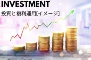 投資と複利運用 イメージ